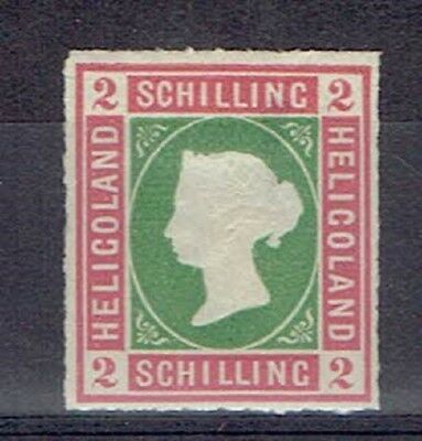 Germany Heligoland, British Terr. Period, MLH 2 Sch. Embossed Stamp, Lot No. 4