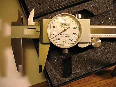 Fowler Premium Stainless Hardned Dial Calipers