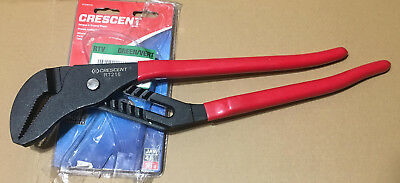 """Crescent RT216 16"""" Adjustable Wrench Pliers tongue groove straight locking jaw"""