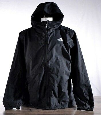 The North Face Men's Quest Trail Jacket LARGE Black T0A8AZ Waterproof Hoodie NWT