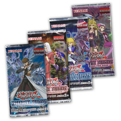 Yu-Gi-Oh! Legendary Duelists 4 Booster - Ancient Millennium White Dragon Sisters