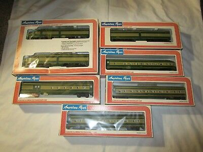 American Flyer Lionel Erie Alco A 4-8251 Diesel Power & Dummy Units And 4 Cars
