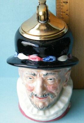 "Royal Doulton Evans Lighter Toby Character ""Beef Eaters"""