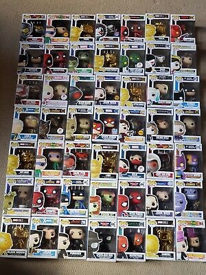 Pick 1-49 Funko Pop! Mystery Box Exclusives, Chases Marvel DC Vinyl Bobble Head