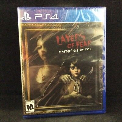 Layers of Fear: Masterpiece Edition [Limited Run Game] (PS4) BRAND NEW