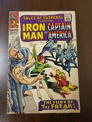 Tales of Suspense #75 Key Issue Marvel,Iron,Captain America,1st Peggy Carter NR