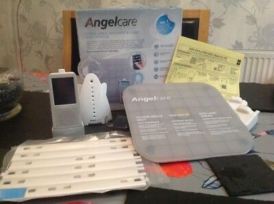 Angelcare AC1100 Digital Colour Video Movement & Sound Baby Monitor Touch Screen