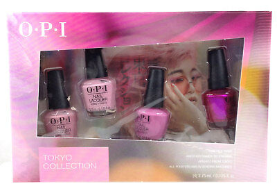 OPI Nail Lacquer - TOKYO Spring 2019 Mini Collection - 4 colors x 1/8oz