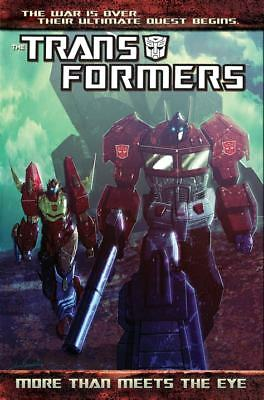 Transformers more than meets the eye volume 1