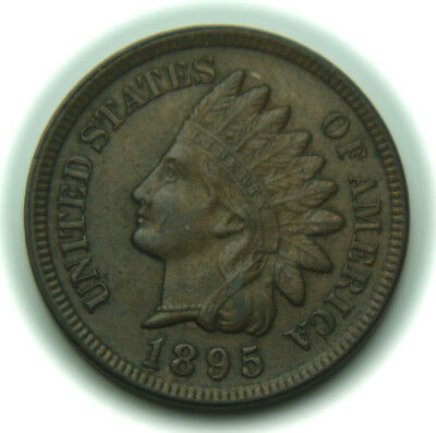 1895 Indian Head One Cent - 1C - No Reserve!