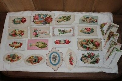 Antique Victorian Lot of 23 Calling Cards Gen Logan Gen Sheridan