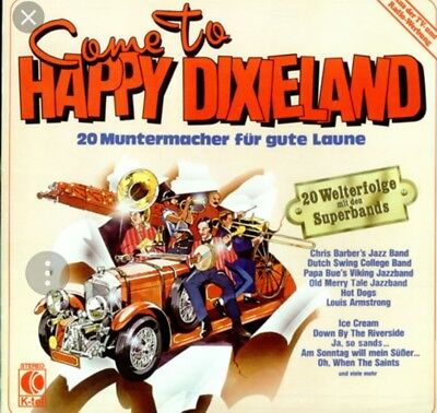Come To HAPPY DIXIELAND (Louis Armstrong, Old Merry Tale Jazzband, …)