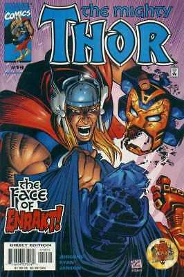 Thor (1998 series) #19 in Near Mint minus condition. Marvel comics [*kb]