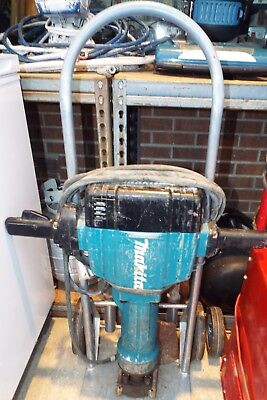 Makita MOD.HM1810 Jack Hammer-Stand & 5 Bits-Tested And Working Properly
