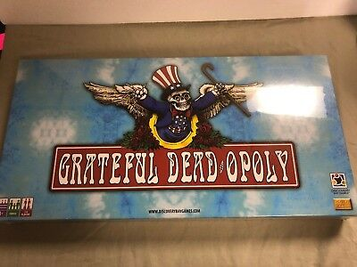 Grateful Dead Opoly New Factory Sealed Monopoly Type Game - Jerry Garcia