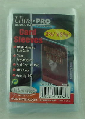 "Ultra Pro Clear ""Penny"" Standard/Magic The Gathering Card Sleeves (100ct) 81126"