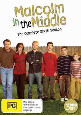 Malcolm in the Middle - 3 Disc Season 6 - DVD