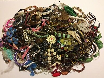 Huge Estate Lot~11 Pounds! Unsearched~Untested Some Are Wearable