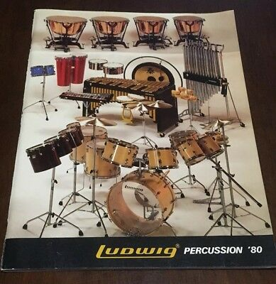Ludwig Drums Percussion Catalog 1980 96 Pages