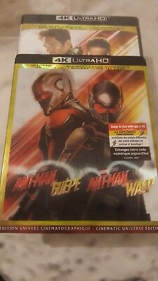 Ant-Man and the Wasp (4K UHD/Blu-ray/Digital) with Lenticular Slipcover *SEALED*