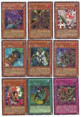 Complete YuGiOh Legacy of Darkness 1st Edition Set LOD-000-100 Ultra Rare!