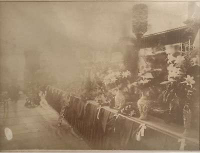Vintage Albumen Photograph Of Princess Ruths Funeral