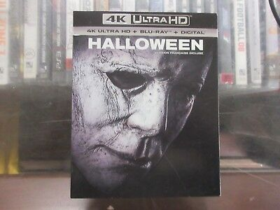 BRAND NEW Halloween 2018 (4K Ultra HD + Blu Ray + Digital)