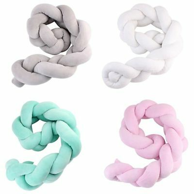Newborn Baby Bed Bumper Infant Room Decor Crib Protector Pacification Toy  G6C2)