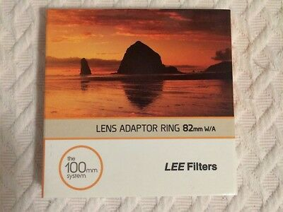 Lee Filters Lens Adaptor Ring-Mint Condition 82 W/A (The 100mm System)