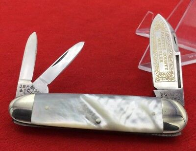 "J.W. Hickey & Sons Sleeveboard Whittler ""FAYETTE COUNTY WHITTLER"" Pocket Knife"