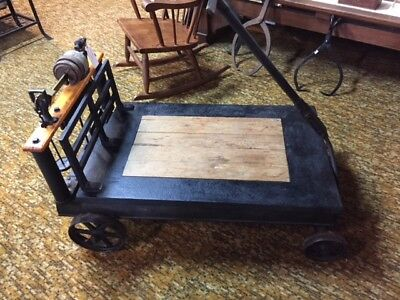 Antique Platform Scale