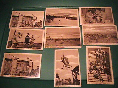 Nine Wwii Camp Haan California Postcards Military Training
