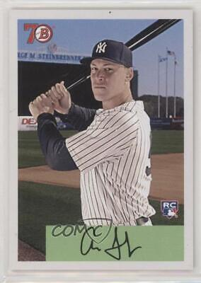 2017 Topps Throwback Thursday #TBT Online Exclusive Base #78 Aaron Judge Card