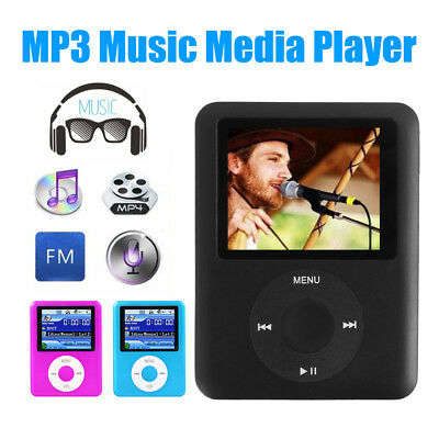 "Slim 1,8 ""LCD MP4 MP3 Music Player Media Video FM-radio enregistreur vocal 16GB"