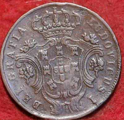 1880 Portugal Azores 5 Reis Foreign Coin