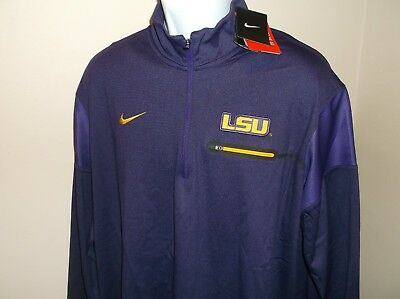 dbe865c84 LSU TIGERS  10 Nike Limited Sewn Football Jersey Adult XL nwt Free ...
