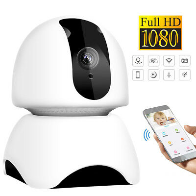 WiFi caméra IP sans fil 1080P HD IR de sécurité webcam 2MP Baby audio Tilt CCTV