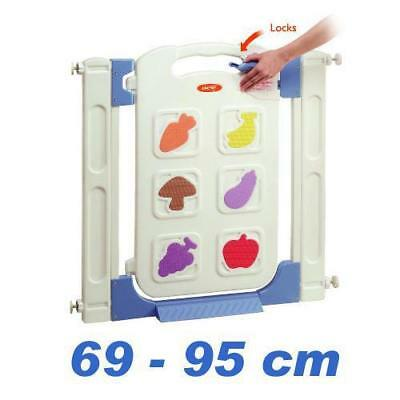 High Quality Child Baby Kid Security Guard Safety Gate Toddler Pet Barrier Door