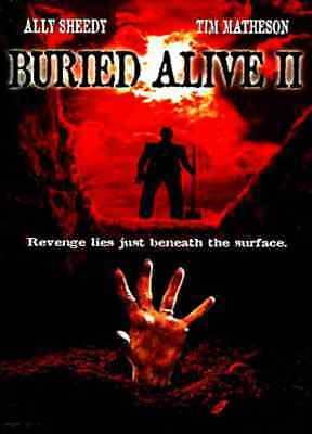 Buried Alive 2 - 1997 Horror DVD