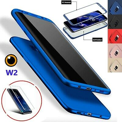 For Samsung Galaxy S9 Phones 360°Shockproof Full Body Hybrid Hard Case Cover
