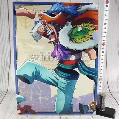 One Piece Buggy Ichiban-Kuji Art Clear File Anime Manga /6011