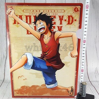 One Piece Monkey D Luffy Ichiban-Kuji Art Clear File Anime Manga /6008