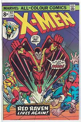 Uncanny X-Men (Vol 1) #92 (Vfn (Vyfne Plus Precio Variante de RS003 Original