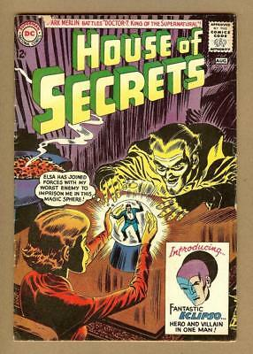 House of Secrets #61 - 1st Appearance of Eclipso - 4.5 Very Good+