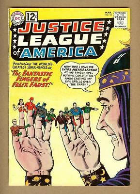 Justice League of America #10 - 1st Felix Faust - Original Owner - 8.0 VF