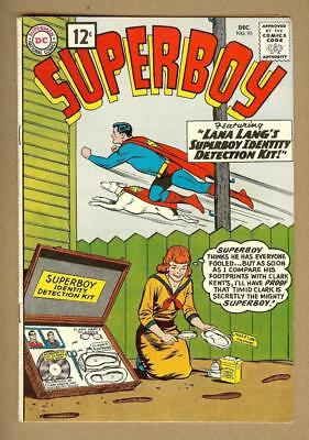 Superboy #93 DC Comics 1961 Original Owner Collection  - 7.0 Fine/Very Fine