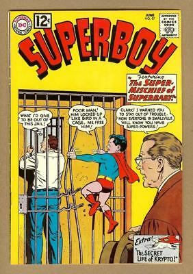 Superboy #97 DC Comics 1962 Original Owner Collection - 8.0 Very Fine