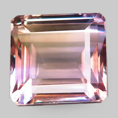 14.65ct.Marvelous Gem! 100%Natural Bi Color Ametrine Unheated Bolivia AAA Nr!