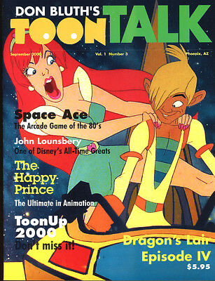 Don Bluth. TOON TALK. September, 2000. Space Ace, Dragon's Lair