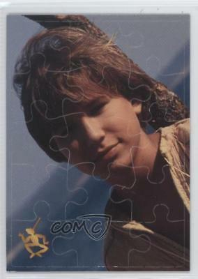 1996 Inkworks The Adventures of Puzzle Cards Pinocchio as a Real Boy #P4 d8k